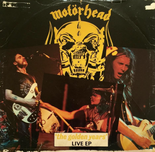 "Motorhead - The Golden Years Live EP (12"") (G-/F+)"